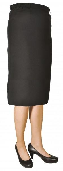 Damen Schützenrock lange Form - schwarz