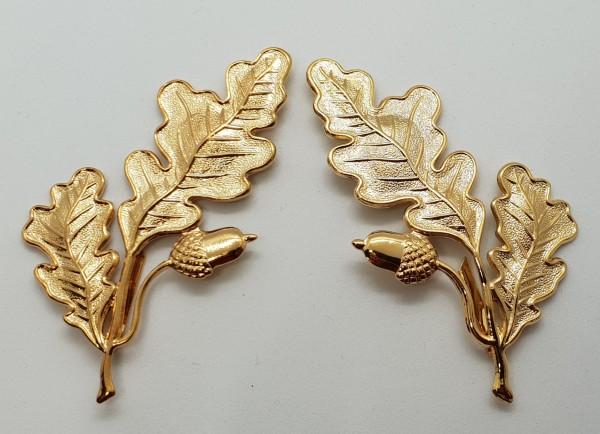 Eichenlaubabzeichen - Goldfarbig