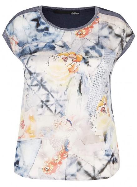 LeComte Shirt mit Print und Glitzereffekt