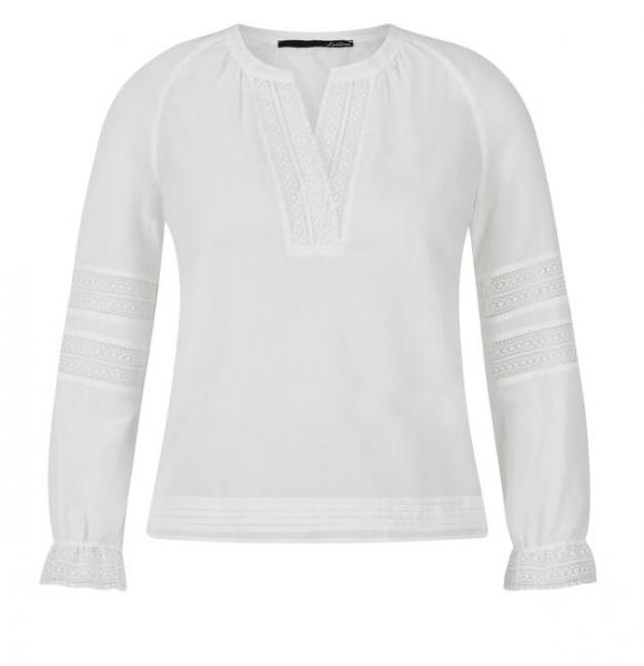 LeComte Damen Bluse - weiß
