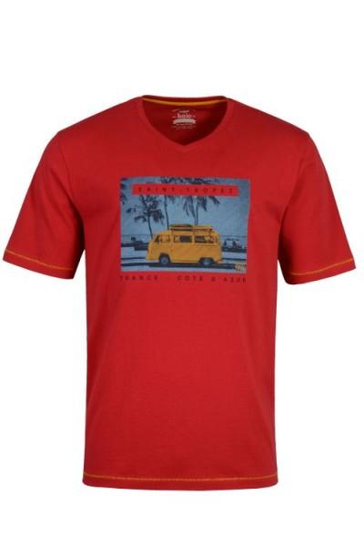Hajo Herren T-Shirt - lava