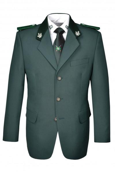 Schützenjacke Hubertus oliv mit Brusttasche