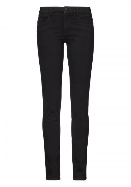 """Damen Jeans""""LUCY"""", klassische Röhrenform im 5-Pocket Style von PADDOCK'S - black/black"""
