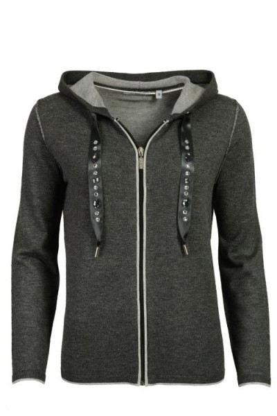 Damen Double-Face Strickjacke