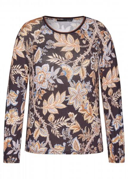 LeComte Shirt Rundhals - Tiefblau