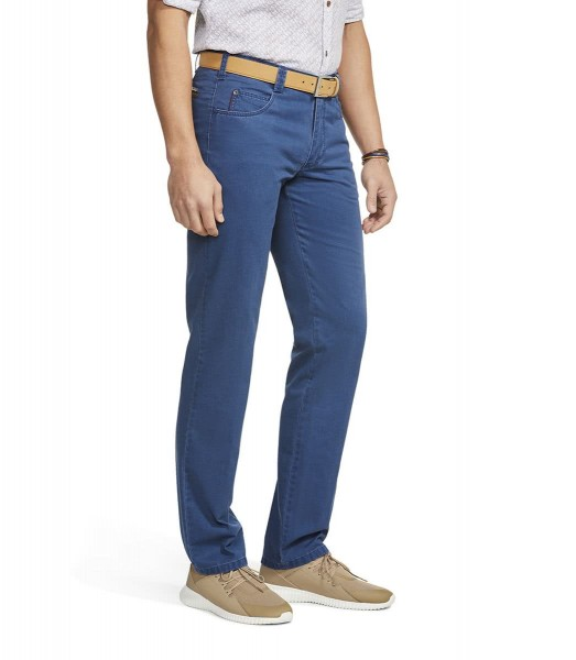 "Meyer Herren Hose ""Diego"" Swingpocket Chino - marine"