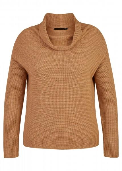 LeComte Damen Pullover - karamell melange