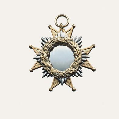 Orden, vergoldet mit Öse und Ring