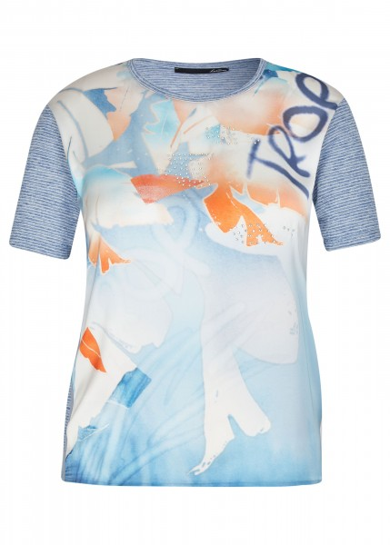LeComte Damen Shirt - denimblau