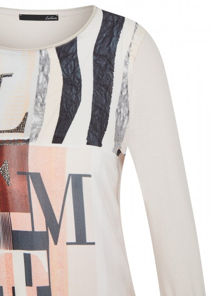 LeComte Damen T-Shirt - Perlmutt