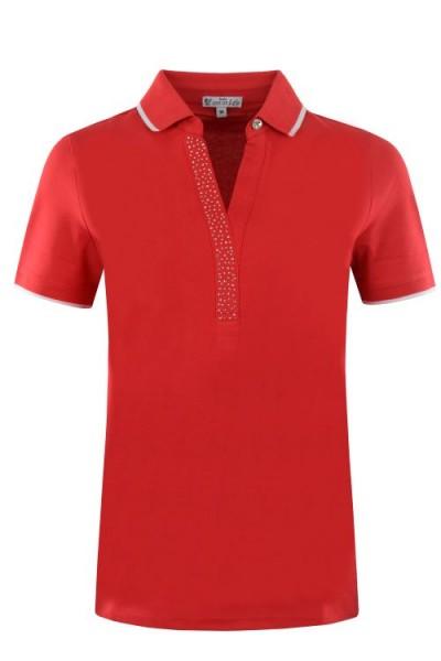 Hajo Damen Polo Shirt - Mohn