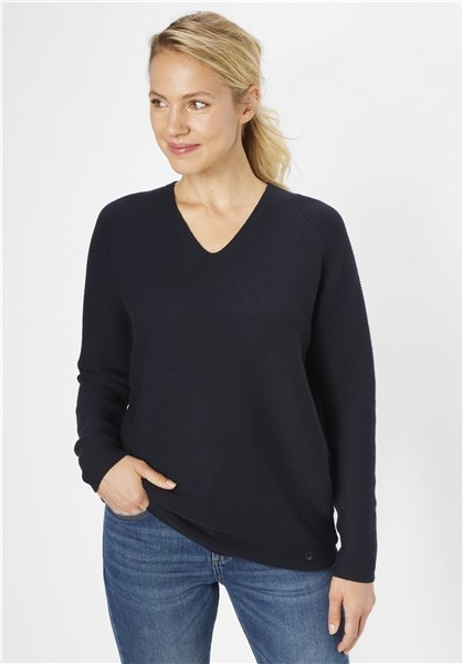 Paddocks Damen Pullover - stone black