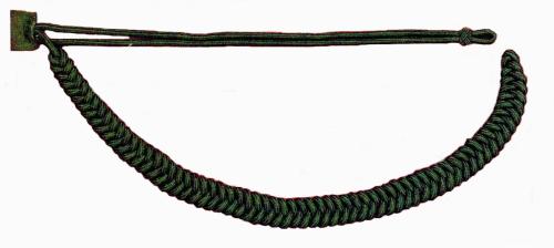 Fangschnur aus 6 mm starker Rundschnur - grün