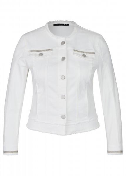 LeComte Damen Jacke - weiß