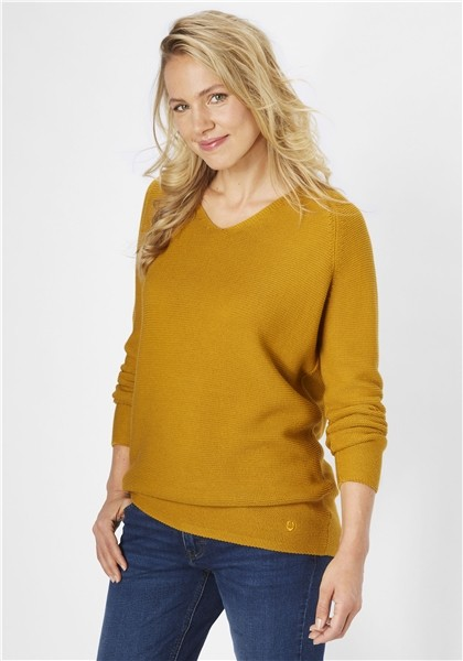 Paddocks Damen Pullover - maple