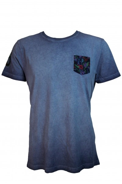 Shockly Herren T-Shirt - denim