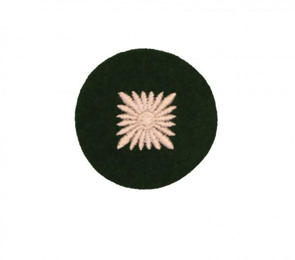 Dienstgradabzeichen Oberschütze - Grün/Silber