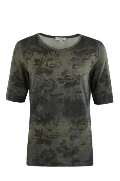 Hajo Damen Shirt 1/2 Arm - Aquarelldruck