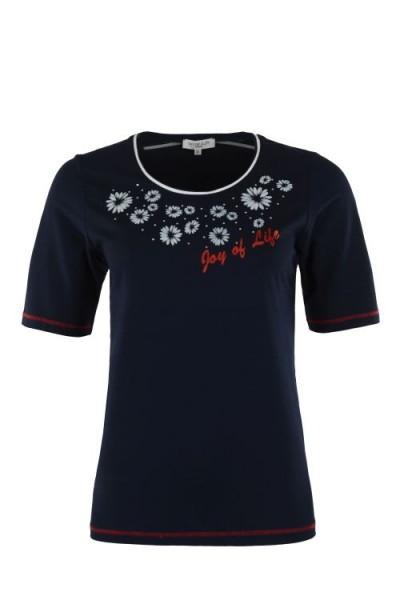 Hajo Damen Shirt uni marine