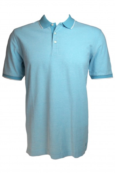 Marvelis Herren Polo Shirt - turkis