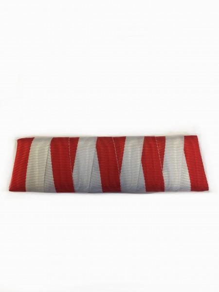 Ordensspange rot-weiß für 4 Orden