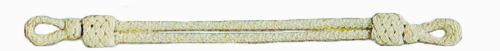 Mützenkordel silberfarbig aus Gimpenkordel-Copy