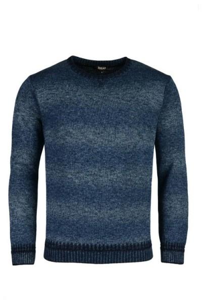 Hajo Herren Pullover- blau