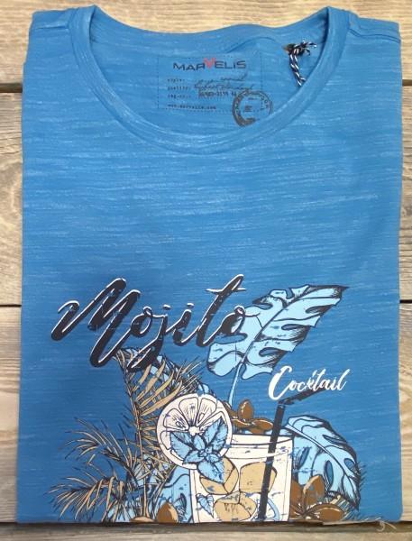 Marvelis Herren T-Shirt - aqua