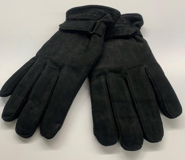 Herren Handschuhe Lakota Leder / Thinsulate - schwarz