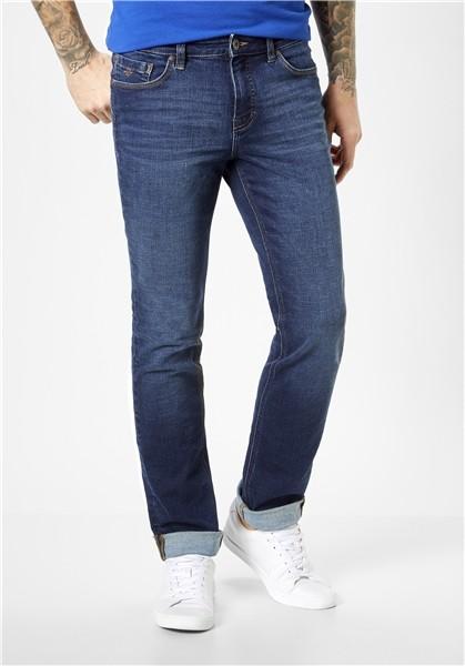 "Paddocks Herren. Jeans ""Ranger Pipe"" deep blue use"