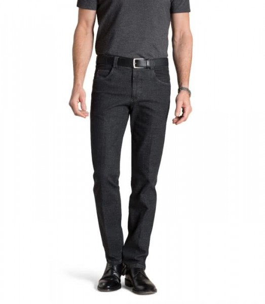 "Herren Meyer Hose Chino ""Diego"" mit Swingpockets black-stone"
