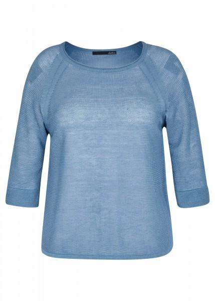 LeComte Damen Pullover - denimblau