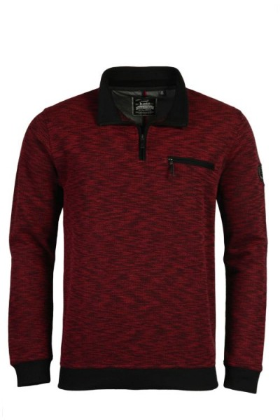 "Hajo Herren Sweatshirt ""Stay Fresh"" rot"