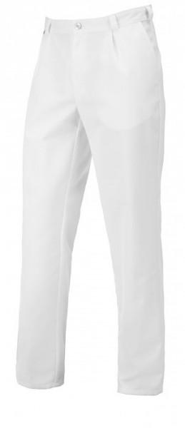 Herren Hose in weiß aus Mischgewebe mit Stretchanteil
